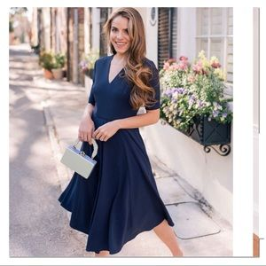 Girl Meets Glam fit and flare dress size 18 NWT